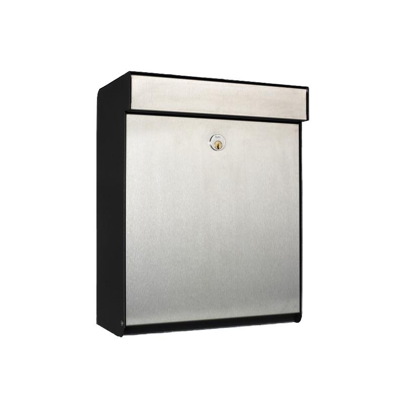 allux grundform stainless steel front