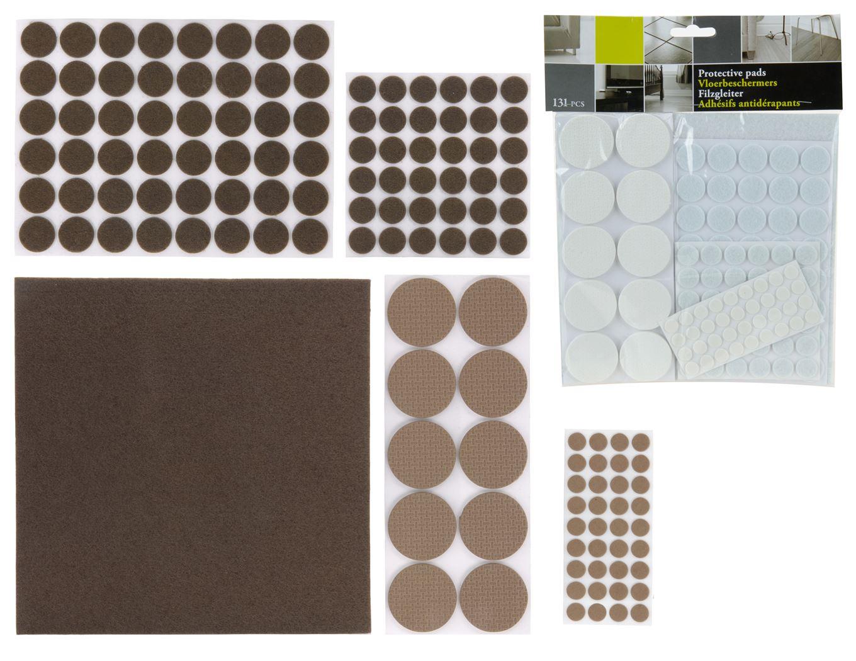antipslip set (131-dlg)(2 kleuren ass.)