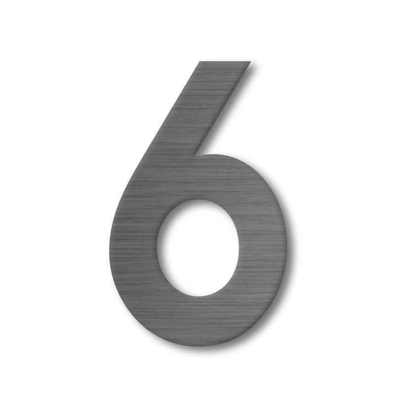 apartu huisnummer rvs 6