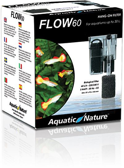 aquatic nature hang on filter flow 60 k48
