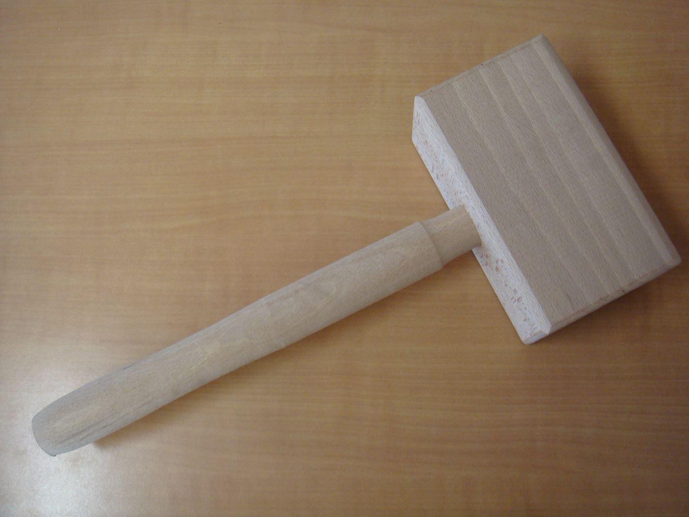 avalo houten hamer rechthoekig