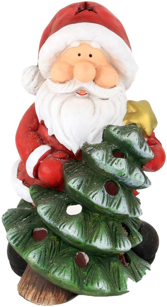 aw t-light santa with tree