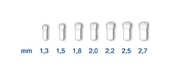b2 stonfo teflon tube - 2,20 mm