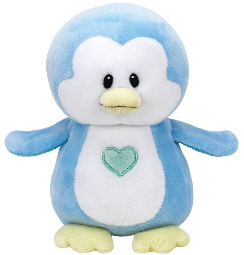 baby ty small - twinkles de blauwe pinguin