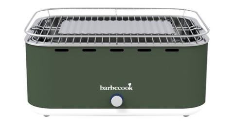 barbecook houtskoolbarbecue carlo army green