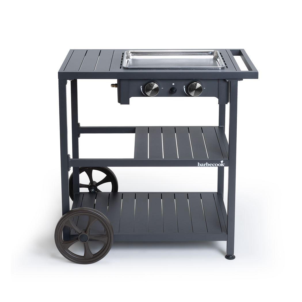 barbecook plancha victor met trolley