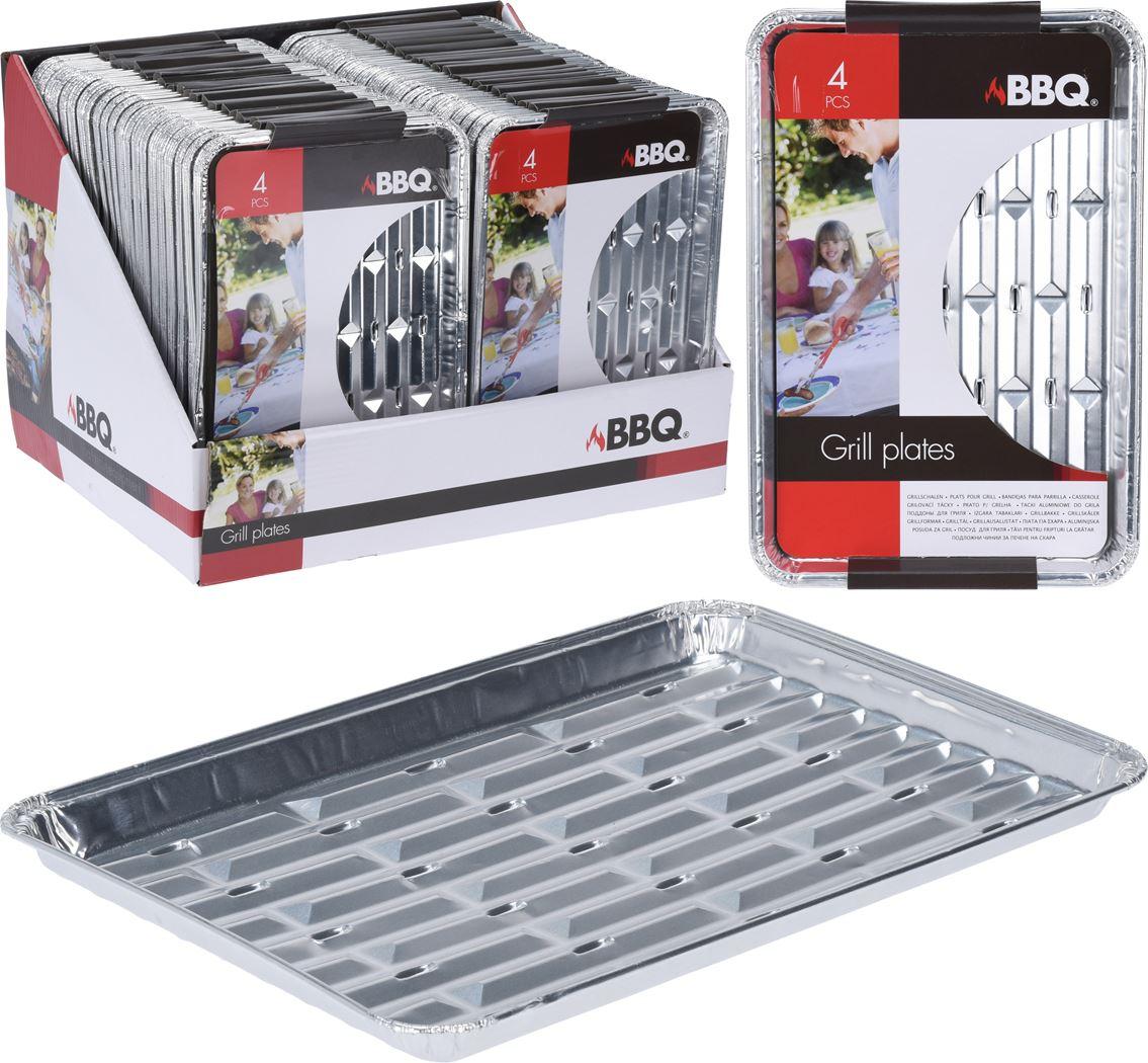 bbq grillschalen set (4sts)