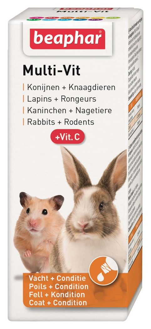 beaphar multi-vitamin konijnen en knaagdieren