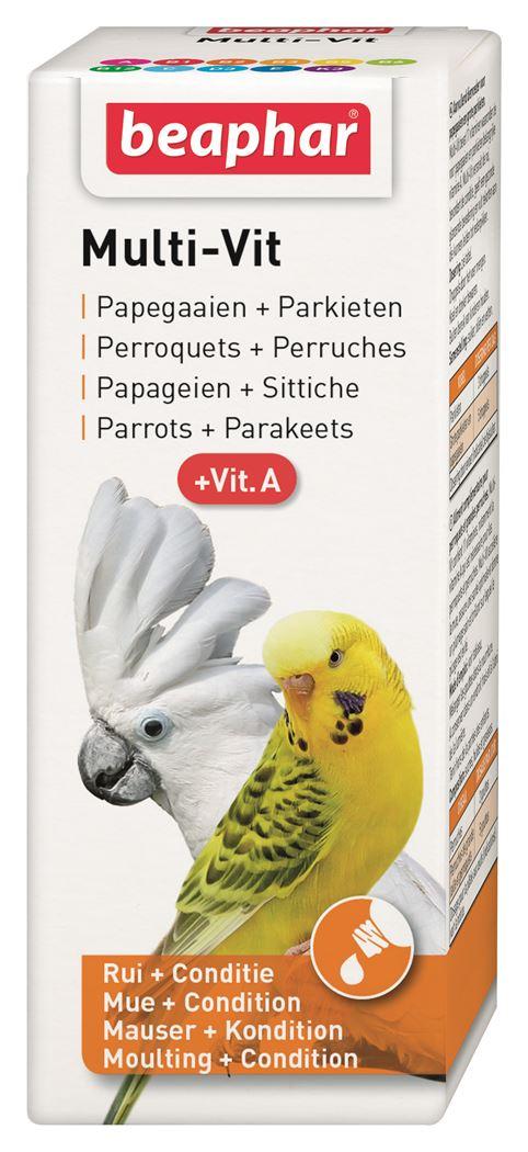 beaphar multi-vitamin papegaaien