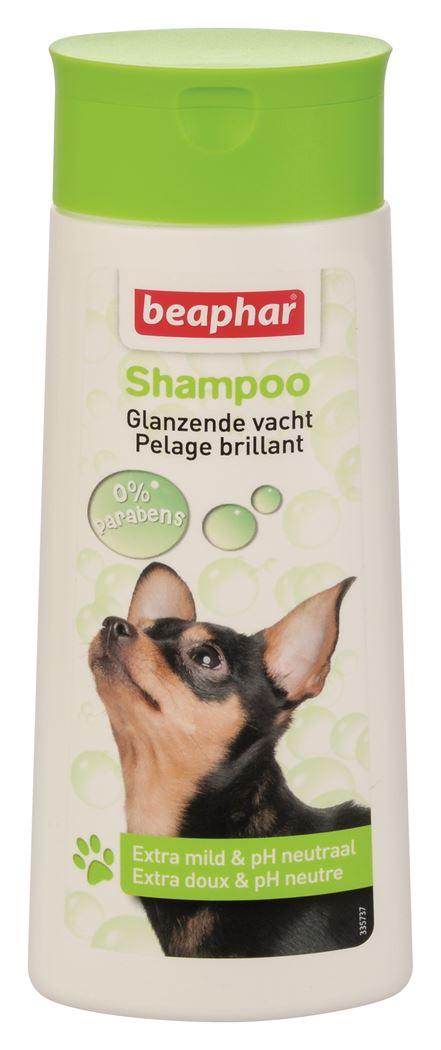 beaphar shampoo bubbels hond glanzende vacht
