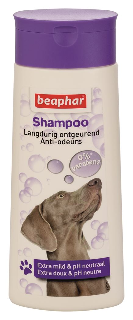 beaphar shampoo bubbels hond ontgeurend
