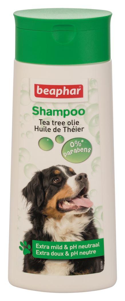 beaphar shampoo bubbels hond tea tree olie