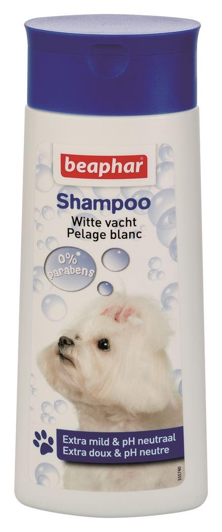 beaphar shampoo bubbels hond witte vacht