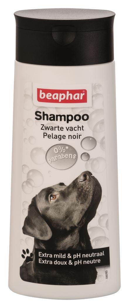 beaphar shampoo bubbels hond zwarte vacht