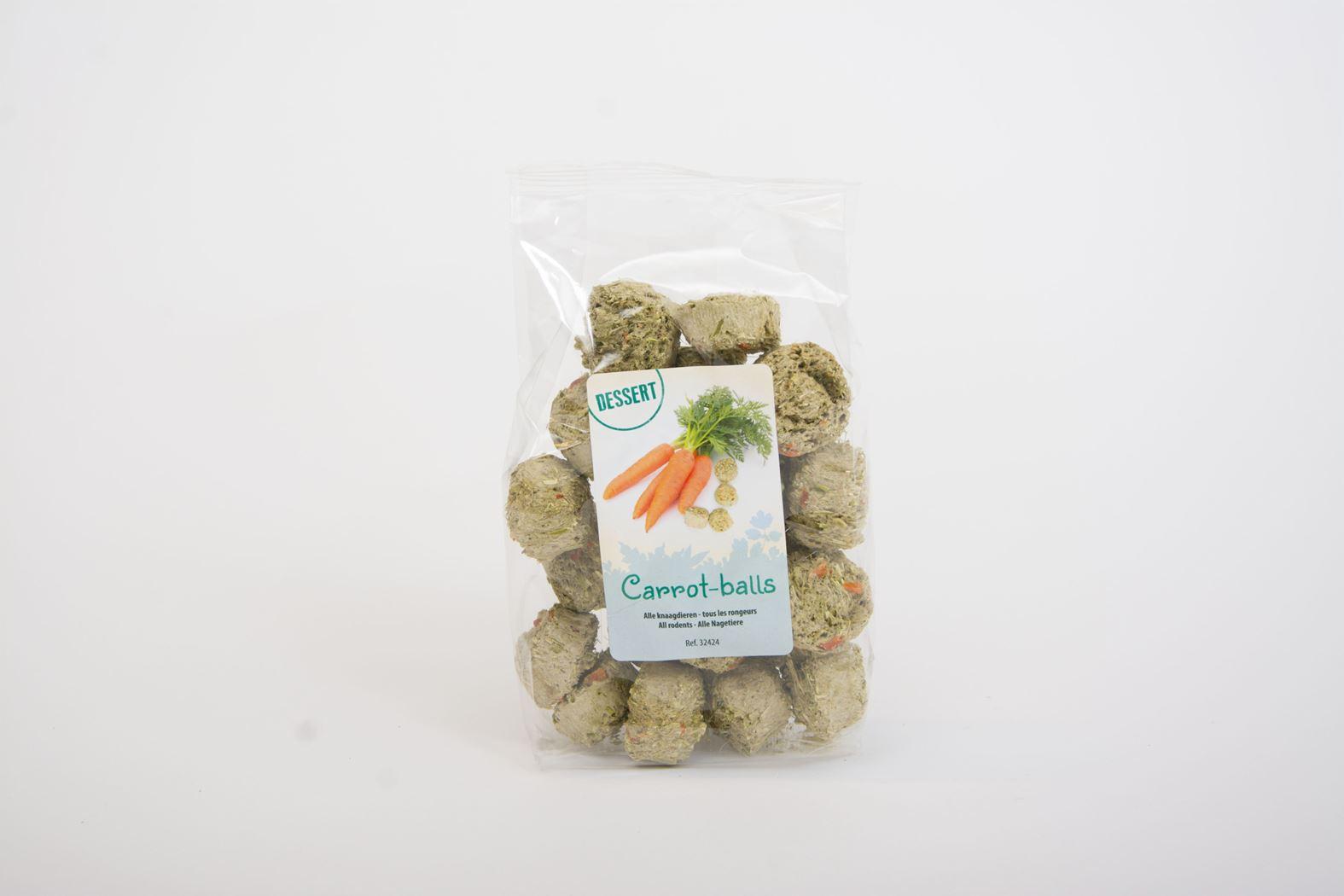 benelux dessert carrot-balls