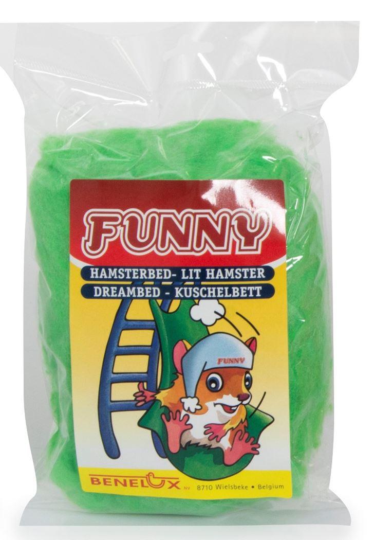 benelux hamsterbed funny groen