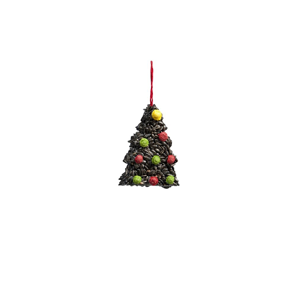 benelux kerstboom met zwarte zonnebloemzaden
