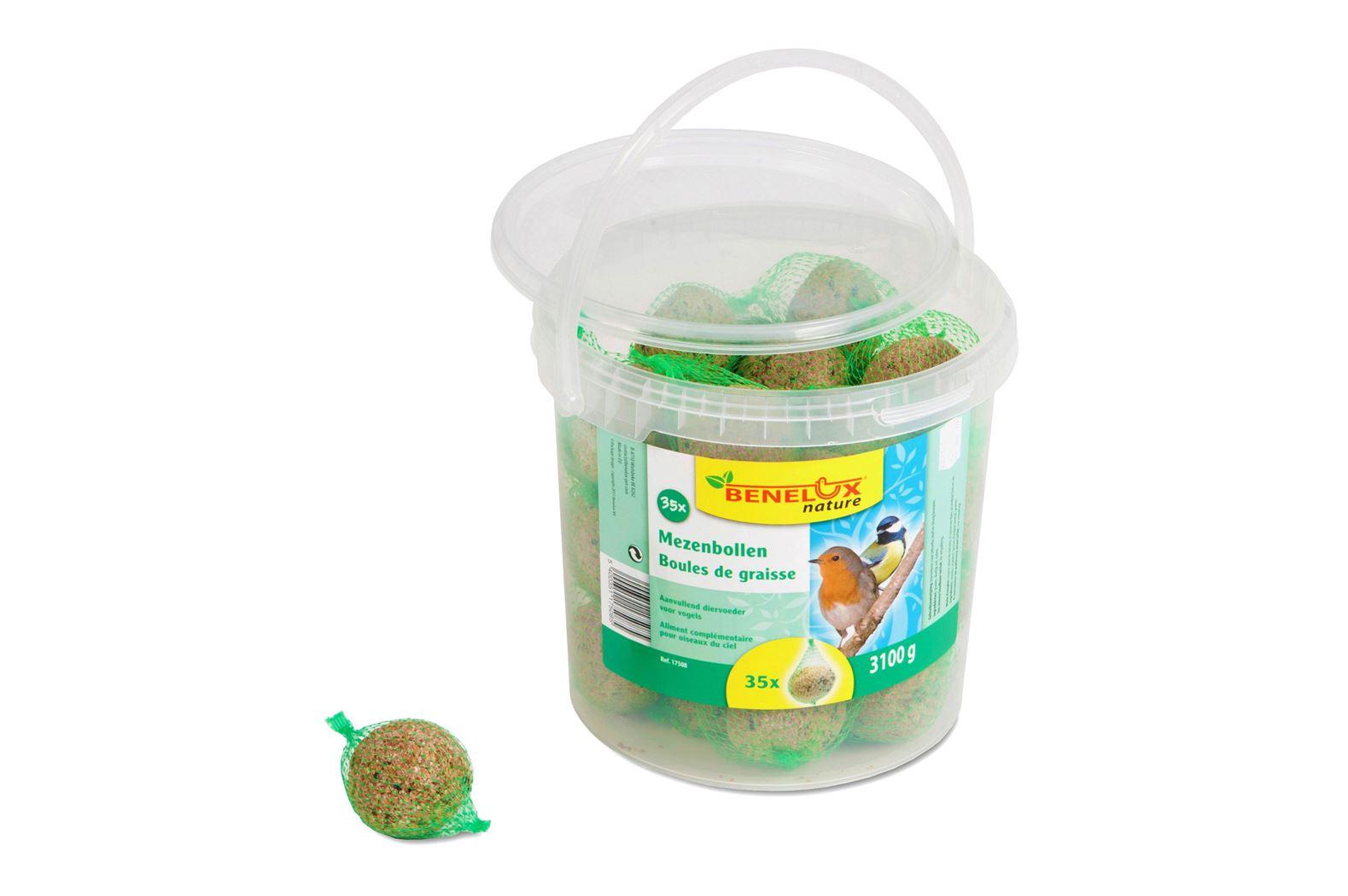 benelux mezenbollen voor vrije natuurvogels (35sts)