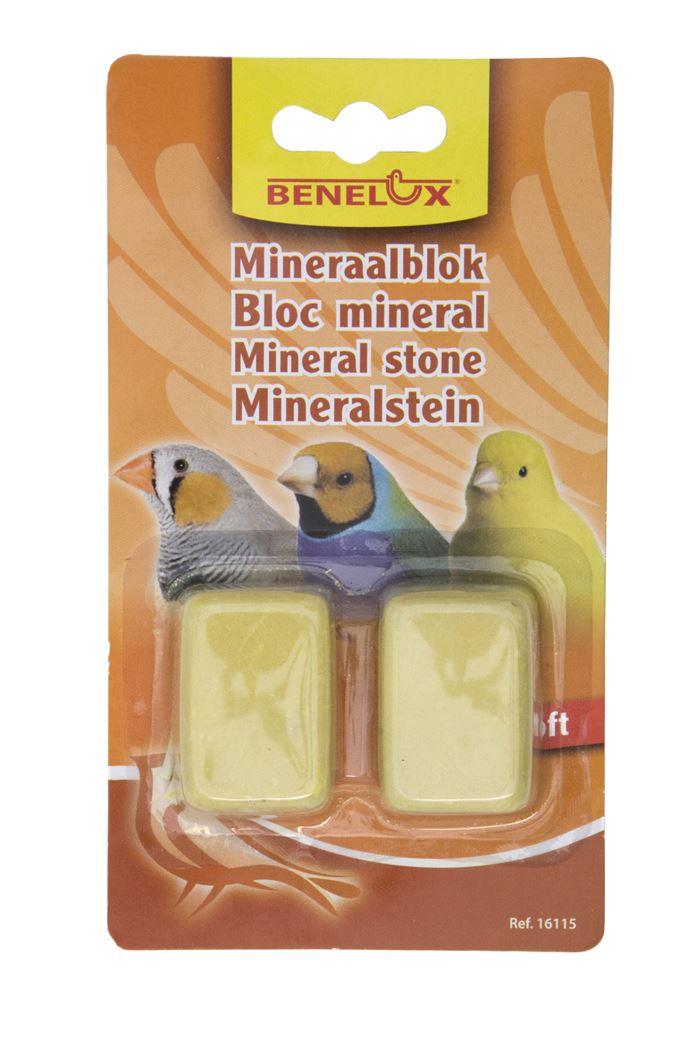 benelux mineraalblok small soft/geel (2sts)