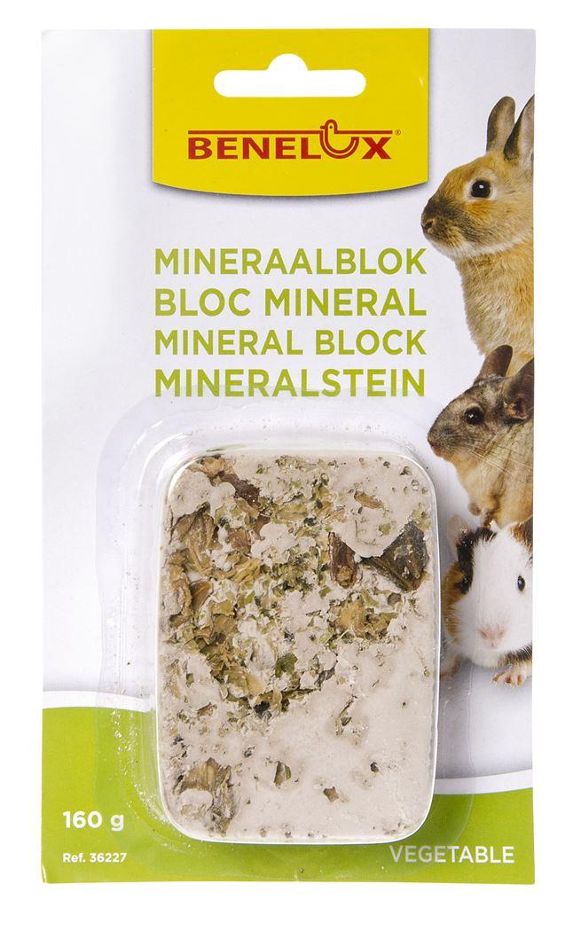 benelux mineral block voor knaagdieren vegetables