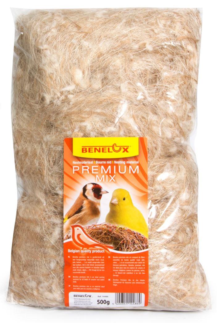 benelux nestmateriaal mix coco-sharpi-sisal-jute