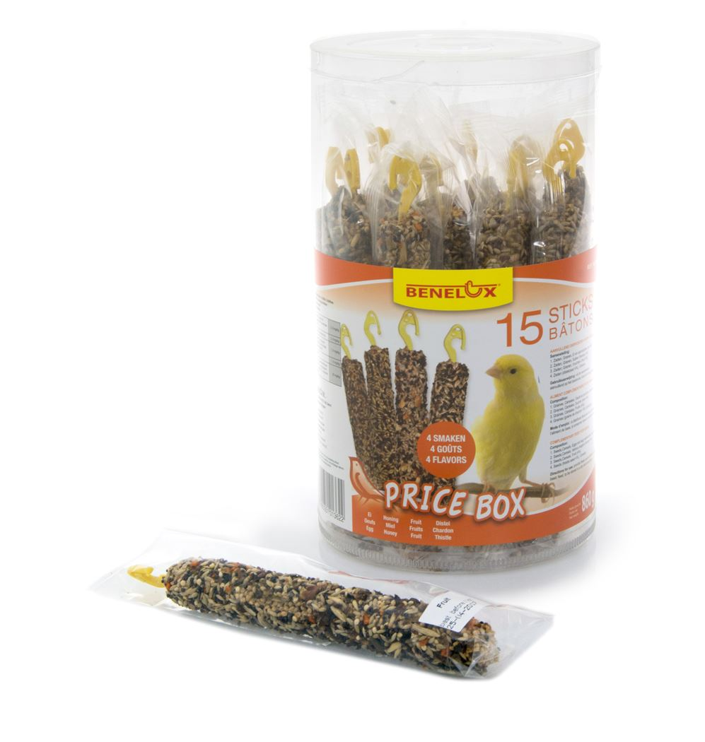 benelux price box crackers kanarie (15sts)