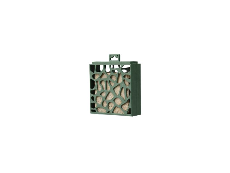 benelux recycled feeder with suet cake