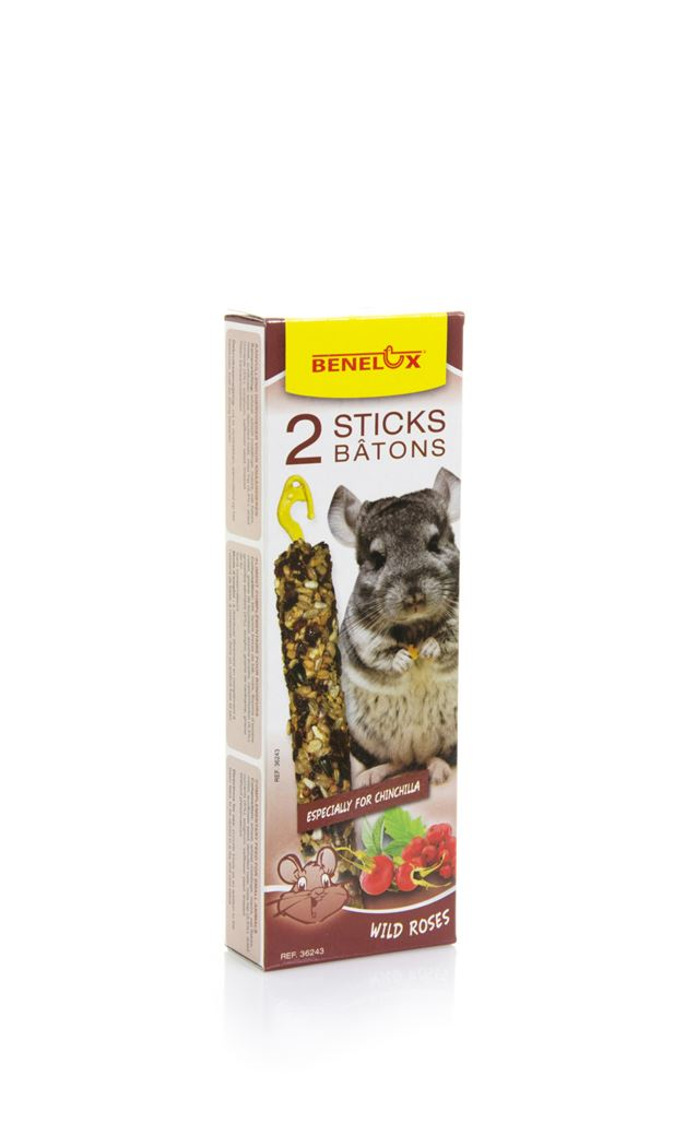 benelux sticks chinchilla wild roses (2sts)