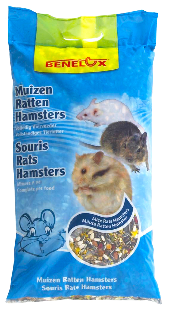 benelux zaadmengsel zonder korrel voor muizen, ratten & hamsters