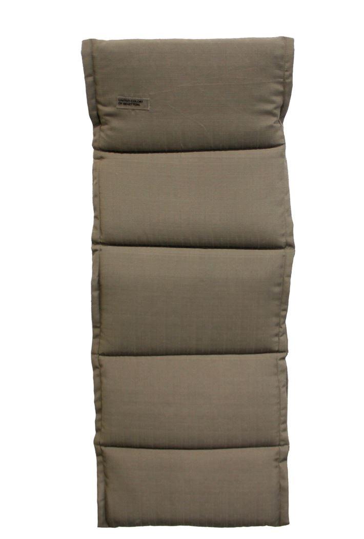benetton sling hoge rug kussen baseline taupe (4sts)
