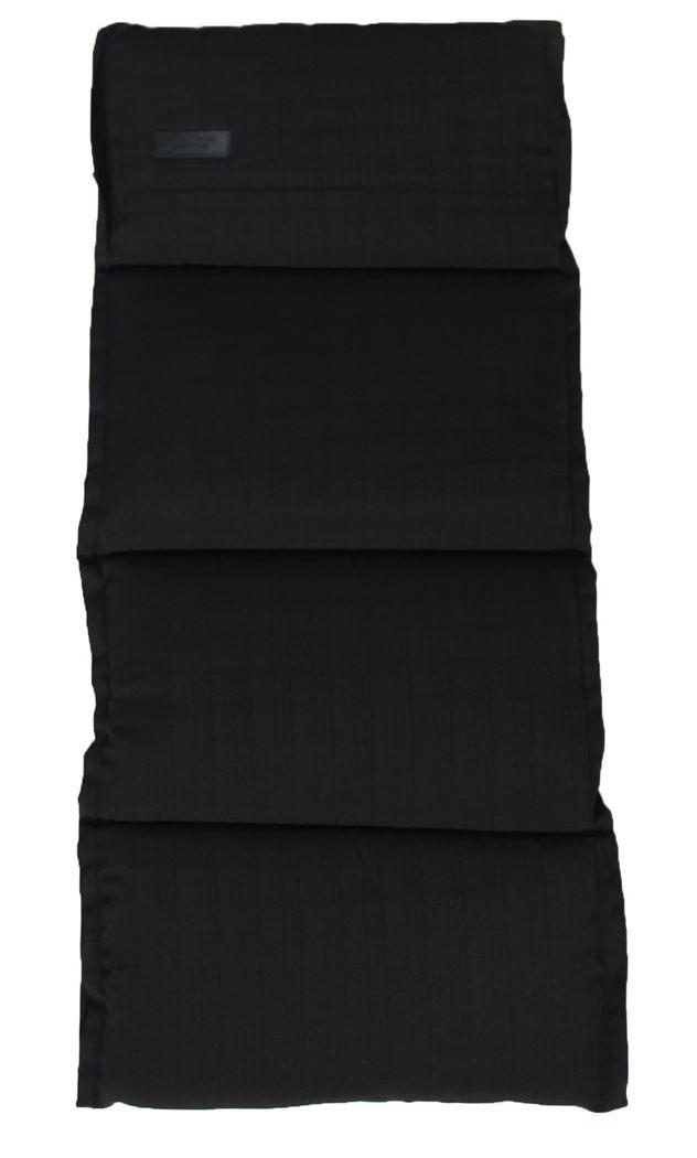 benetton sling lage rug kussen baseline black (4sts)