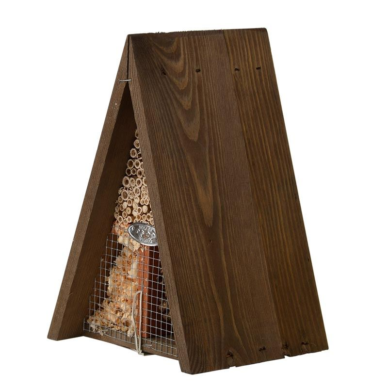 best for birds driehoekig insectenhotel
