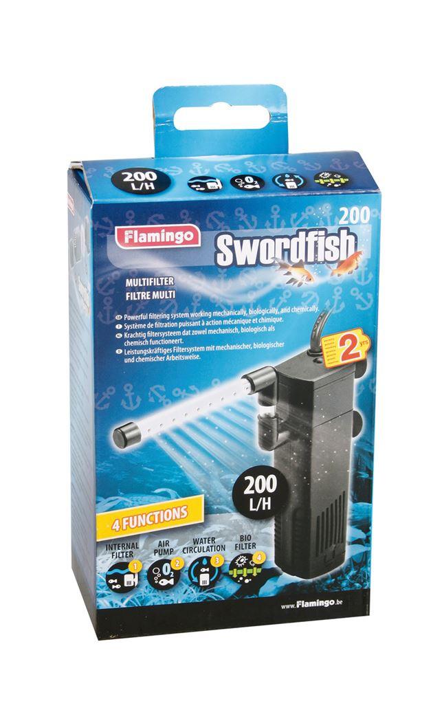 binnenfilter swordfish 200