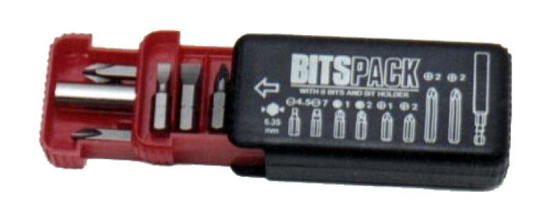 bitset: 8 bits + 1 bithouder