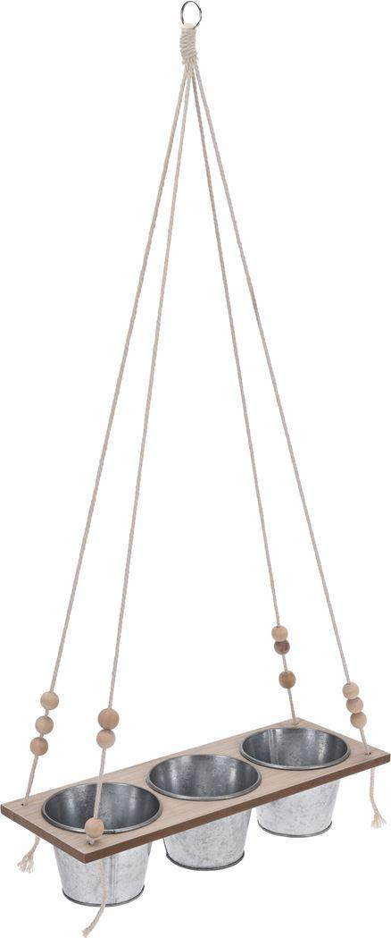 bloempot hanger zink
