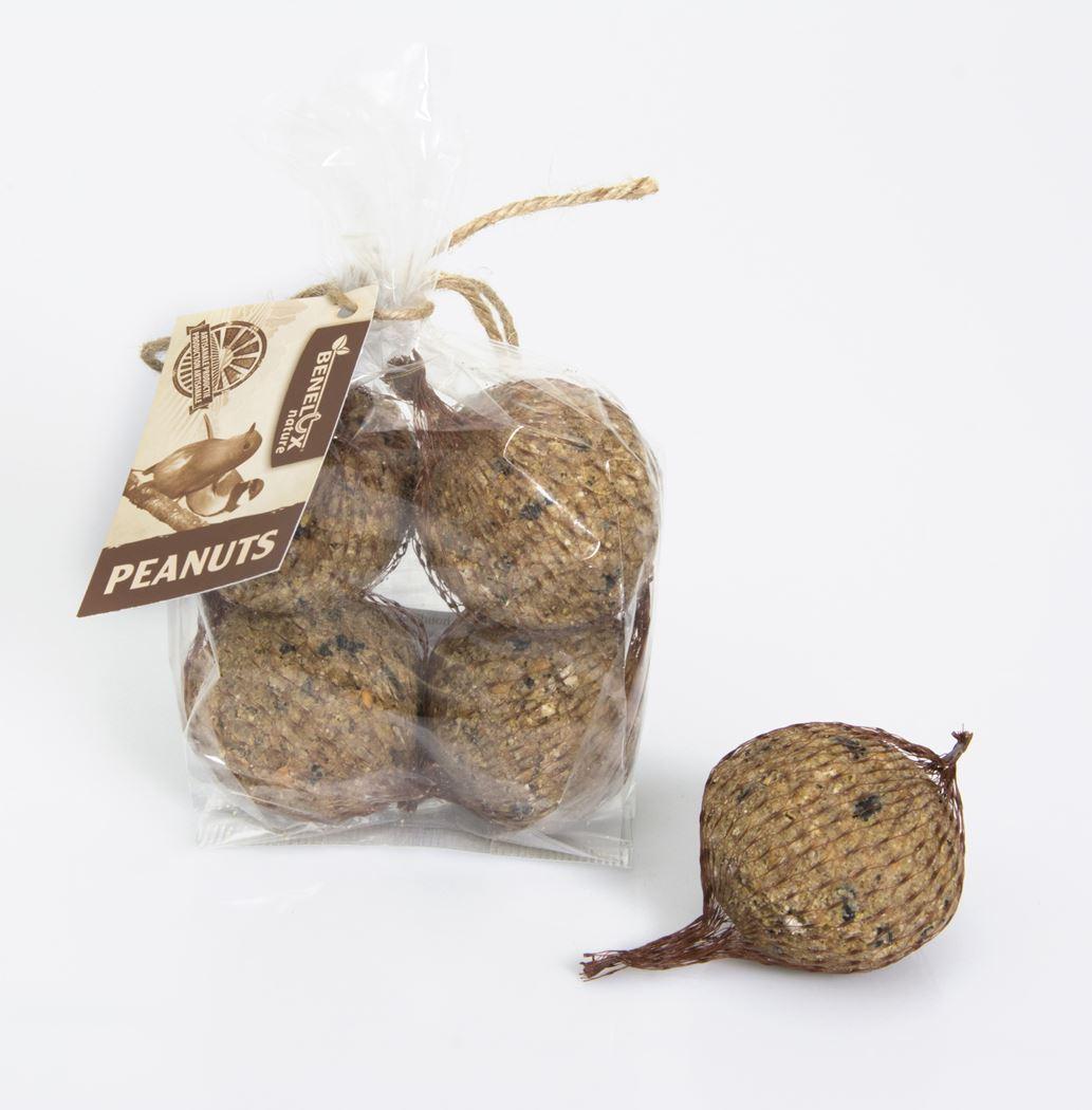benelux artisanale mezenbollen pinda (4sts)
