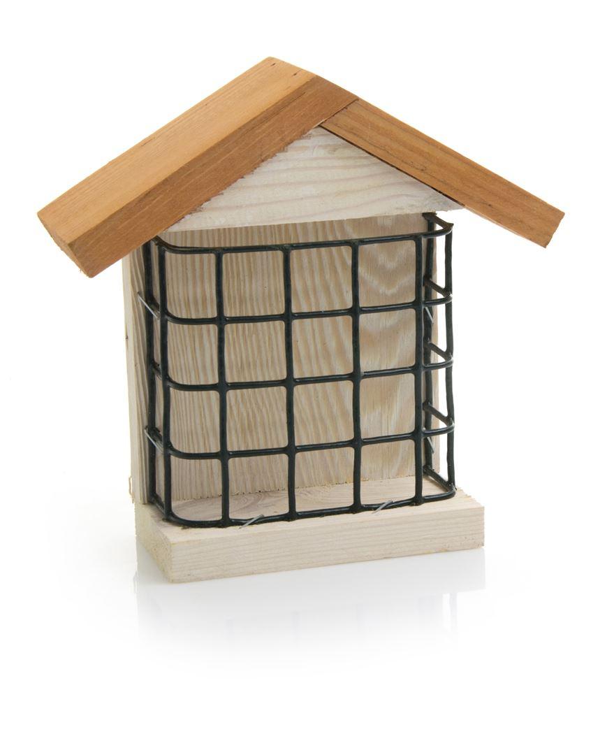 benelux birdcake houder hout huismodel