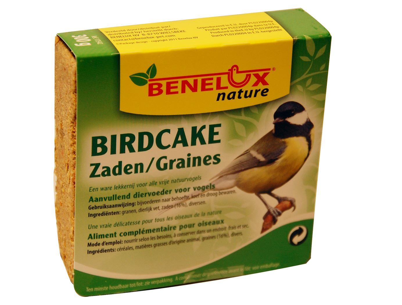 benelux birdcake zaden voor buitenvogels