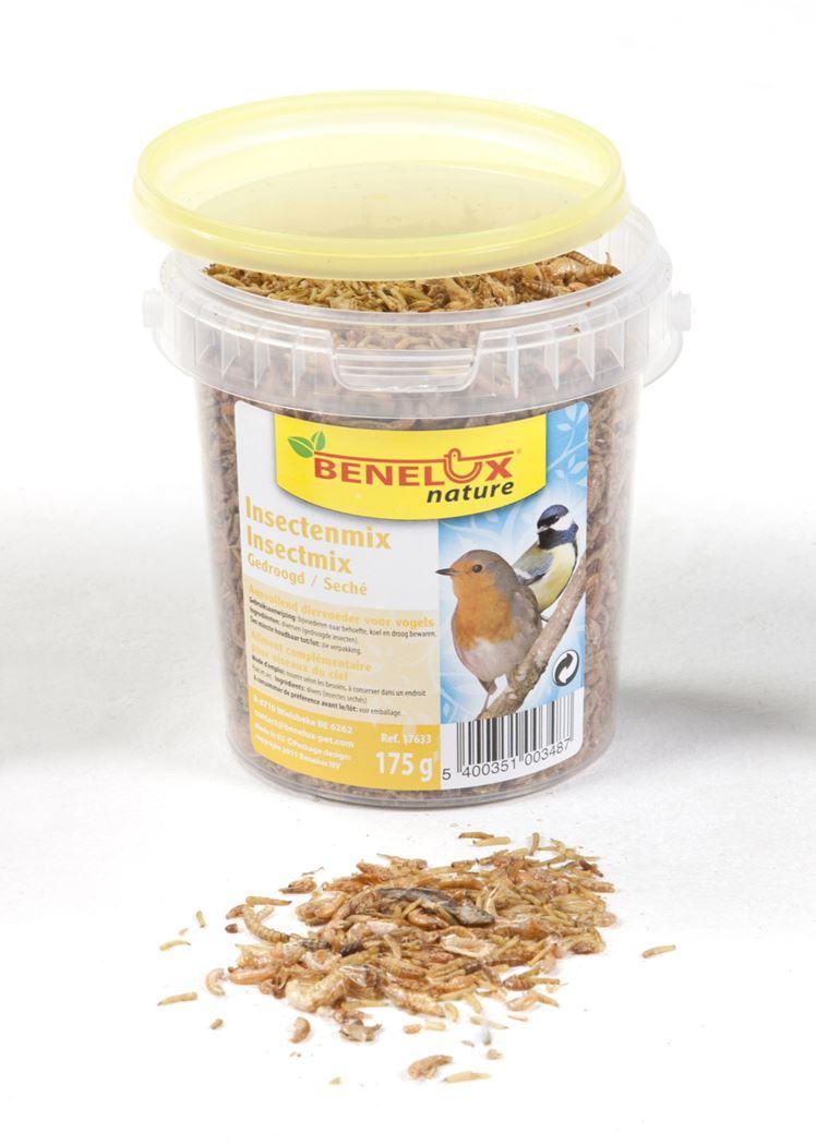 benelux emmertje insectenmix voor buitenvogels