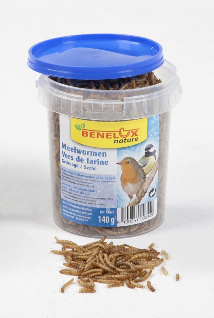 benelux emmertje meelwormen voor buitenvogels