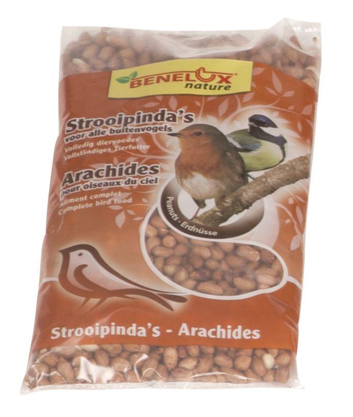 benelux gepelde noten voor vrije natuurvogels