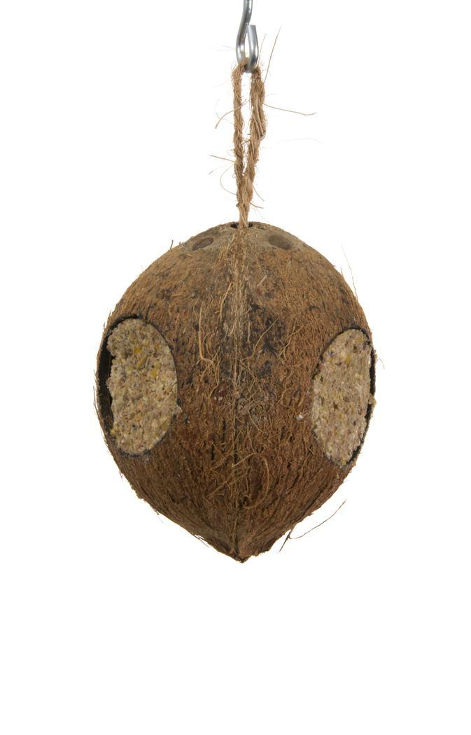 benelux gevulde cocosnoot 3 gaten voor vrije natuurvogels