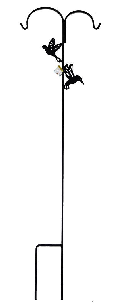 benelux silohouder voet dubbel metaal