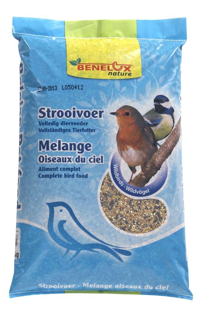 benelux strooivoer voor vrije natuurvogels