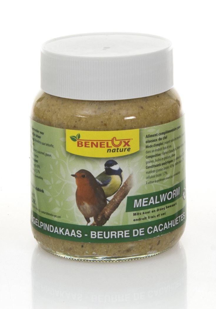 benelux vogelpindakaas + meelworm