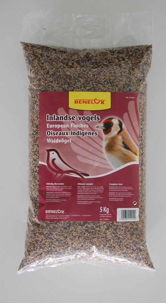 benelux zaadmengsel voor inlandse natuurvogels