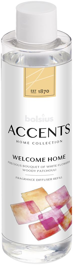 bolsius accents reed diffuser refill welcome home