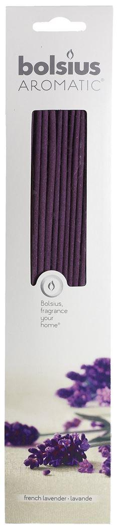 bolsius geursticks french lavender (20sts)