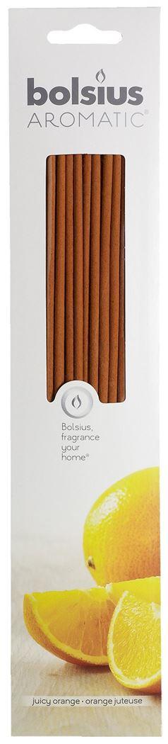 bolsius geursticks juicy orange (20sts)
