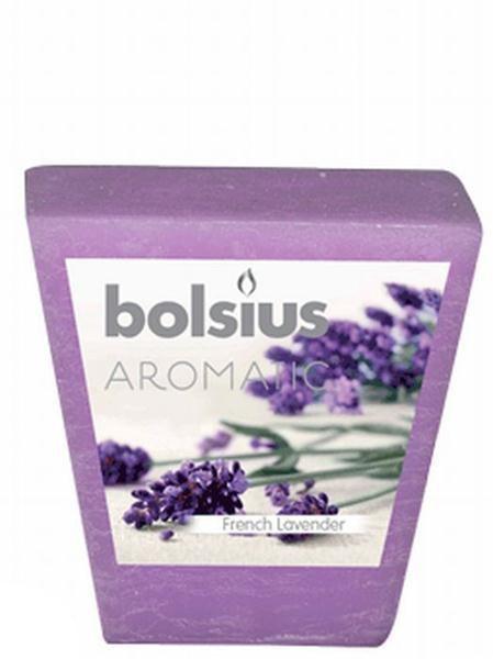 bolsius geurvotive vierkant french lavender